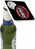 Bottle Bud Opener-Coaster in Use